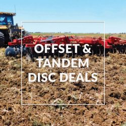 Offset & Tandem Disc Deals