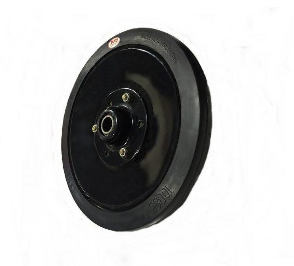 "Semi-Pneumatic seed firming wheel complete 9.5"" x 1"" - Firming wheel"