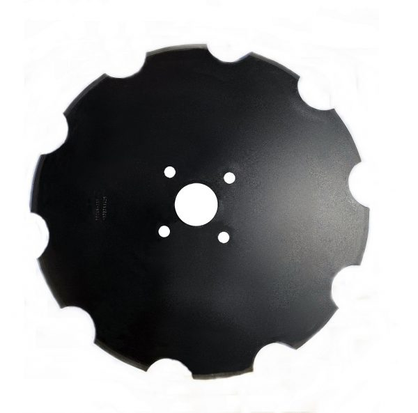 """24""""x6mm Scalloped disc to suit K-Line Speed Tiller & Grizzly """"Grumpy"""" - K-Line/Grizzly Grumpy"""