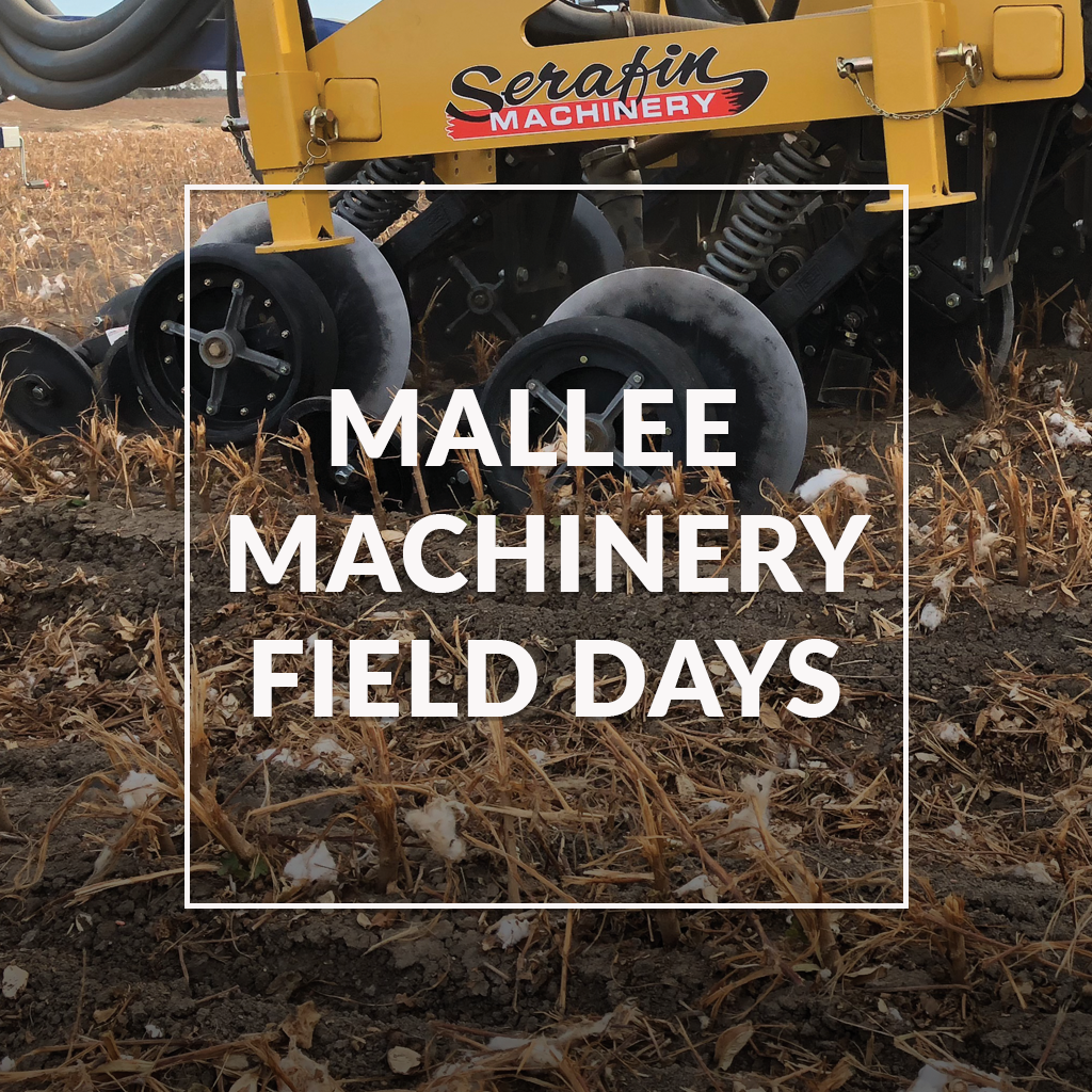 Serafin Machinery at Mallee Machinery Field Days
