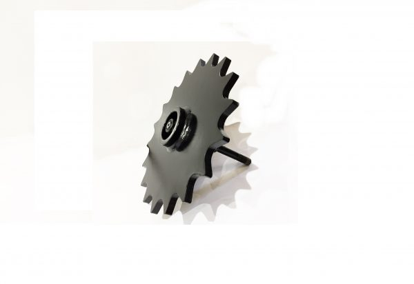 Spoked seed furrow closing wheel - Cover