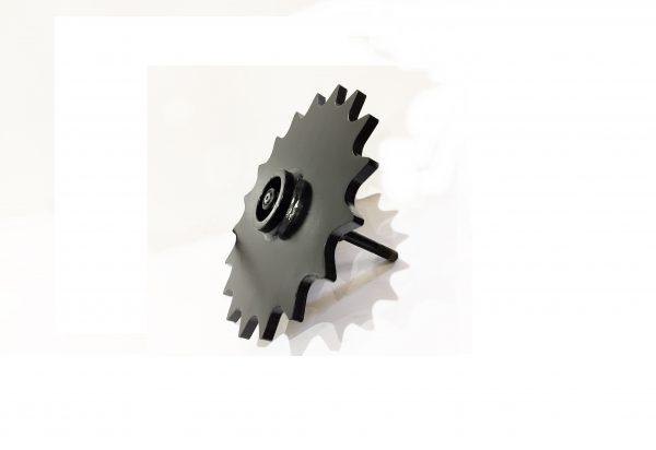 Spoked Seed Furrow Closing Wheel - wheel