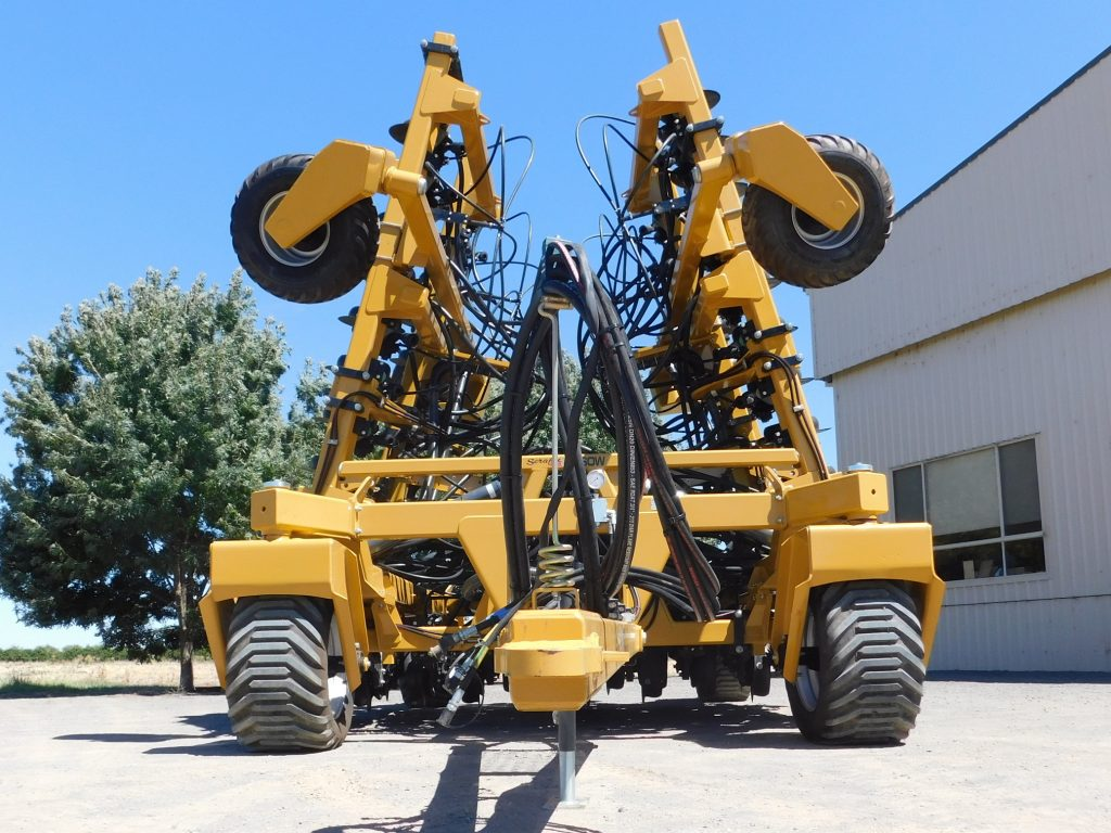 Ultisow S40 folded with 3m CTF frame
