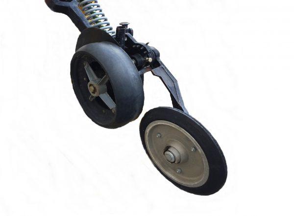 Serafin Baldan SB2019 fitted with the single Manutec Press wheel