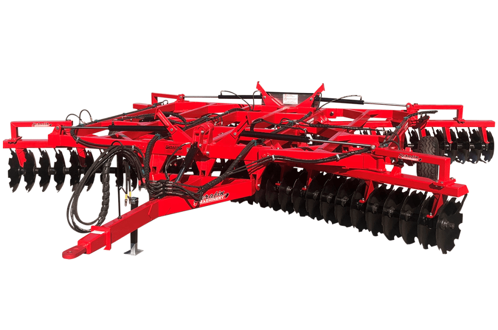 SERAFIN | ECO SERIES FOLDING TANDEM DISC PLOUGH | 64 Plate + 2