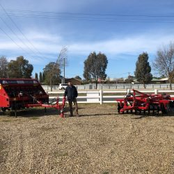 James Turtle, Riverina Co-Op Salesman Wagga Wagga with Semeato & Serafin Eco Series offset disc