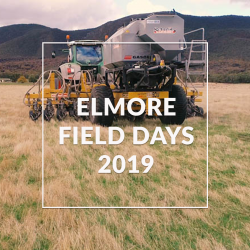 Serafin MAchinery at Elmore Field Days 2019