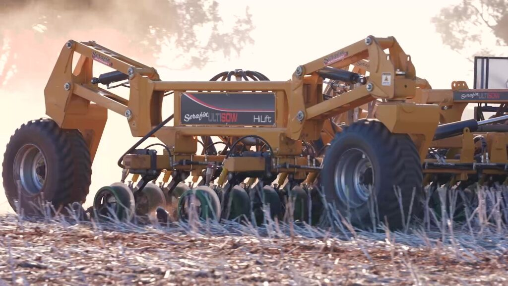 Serafin Ultisow Hi Lift S1260 with Uniforce 3