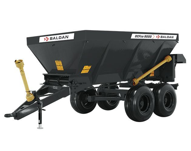 Baldan DCO-FO Spreader in new grey colour