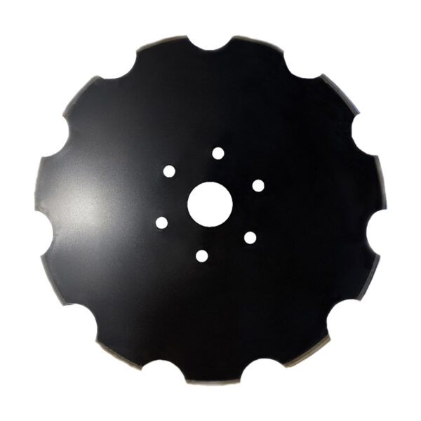 """28""""x 6mm Notched Disc Blade to suit Ennor & Bonel Disc Ploughs - Disc blade"""