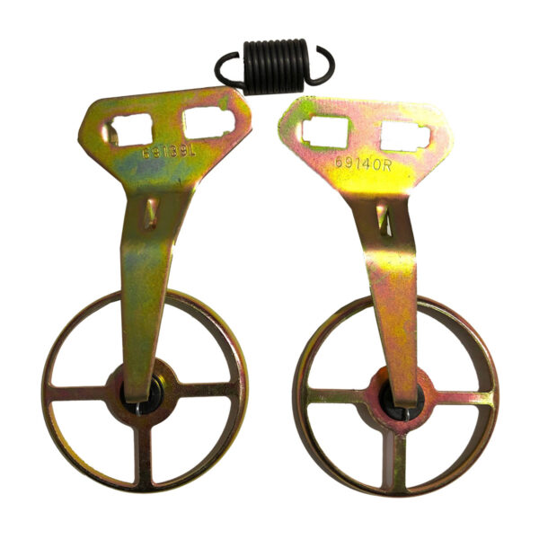 Rotating Scraper Kit to Suit John Deere GTD315K - Rotating scraper kit