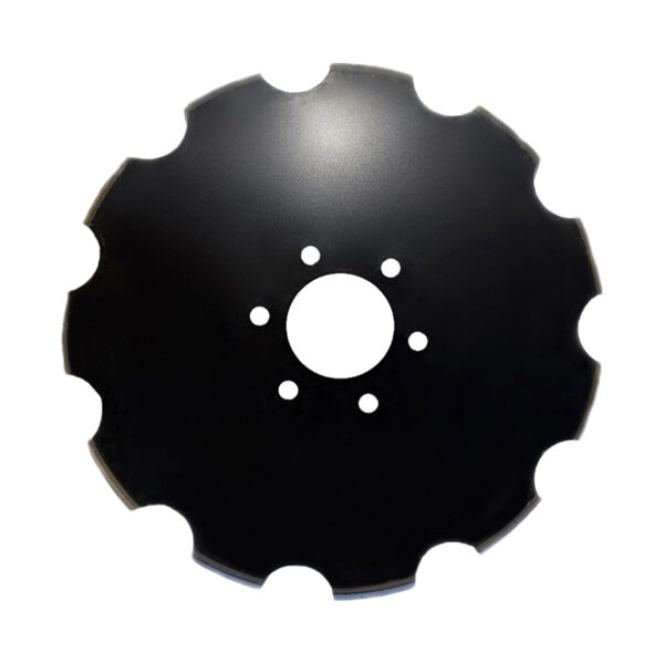 """28"""" x 6mm Scalloped Disc Blade to suit Grizzly """"S"""" series & Belmac Disc Ploughs - scalloped disc"""