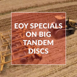 EOY Specials on Big Tandem Offset Discs
