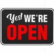 open for business logo